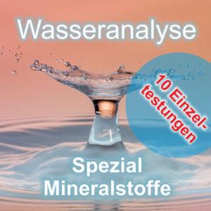Wasseranalyse Mineralstoffe