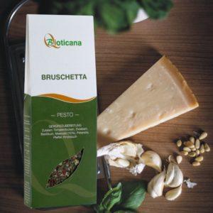 Pesto Bruschetta von Bioticana