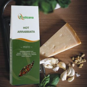 Pesto Hot Arrabbiata von Bioticana