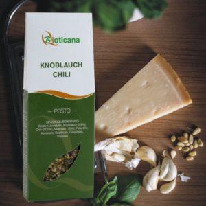 Pesto Knoblauch Chili von Bioticana